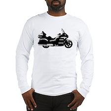 goldwing biker Long Sleeve T-Shirt