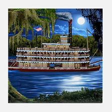 Cute Swamp Tile Coaster