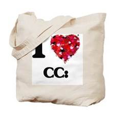 I love CC: Tote Bag