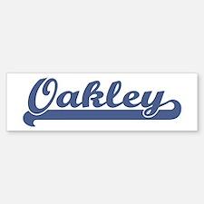 Oakley (sport-blue) Bumper Stickers