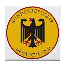 Bundesrepublik Deutschland, Germany Tile Coaster
