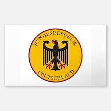 Bundesrepublik Deutschla Decal