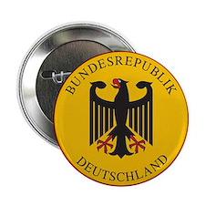 """Bundesrepublik Deutschland, Germany 2.25"""" Button"""