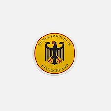 Bundesrepublik Deutschland, Germany Mini Button
