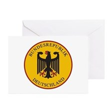 Bundesrepublik Deutschla Greeting Cards (Pk of 10)
