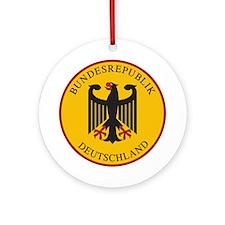 Bundesrepublik Deutschland, Germa Ornament (Round)