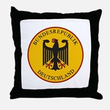 Bundesrepublik Deutschland, Germany Throw Pillow