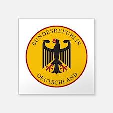 """Bundesrepublik Deutschland, Square Sticker 3"""" x 3"""""""
