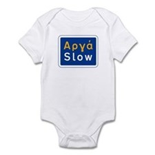 Slow, Greece Infant Bodysuit