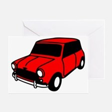 mini car Greeting Card