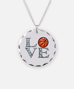 Love Basketball Necklace