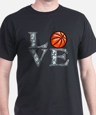 Love Basketball T-Shirt