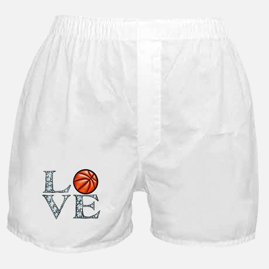Love Basketball Boxer Shorts