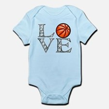 Love Basketball Body Suit