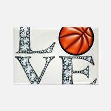 Love Basketball Magnets