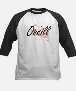 Oneill Artistic Design with Hearts Baseball Jersey