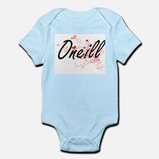 Oneill Artistic Design with Hearts Body Suit