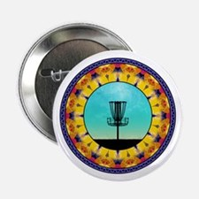 """Disc Golf Abstract Basket 4 2.25"""" Button (100 pack"""
