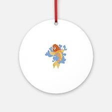 Koi Fish Ornament (Round)