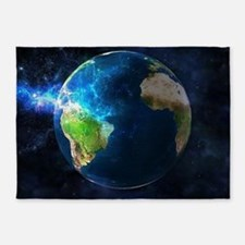 Planet Earth 5'x7'Area Rug