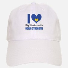 Down Syndrome Brother Baseball Baseball Cap
