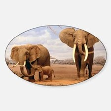 Family Of Elephants Decal