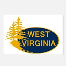 WVU Postcards (Package of 8)