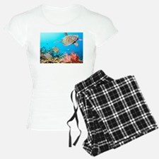 Turtle and Fishes Under Water Pajamas