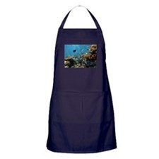Fishes and Underwater Plants Apron (dark)