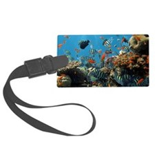 Fishes and Underwater Plants Luggage Tag