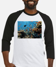 Fishes and Underwater Plants Baseball Jersey