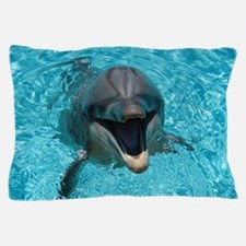 Smiling Dolphin Pillow Case