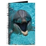 Smiling dolphin Journals & Spiral Notebooks