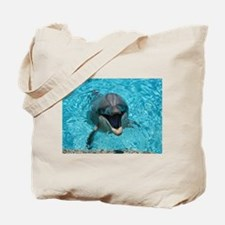 Smiling Dolphin Tote Bag