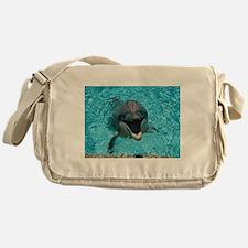 Smiling Dolphin Messenger Bag