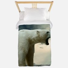 Polar Bear Roaring Twin Duvet