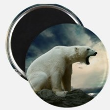 Polar Bear Roaring Magnets