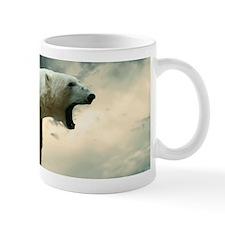 Polar Bear Roaring Mugs