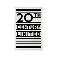 20th Century Limited Rectangle Magnet