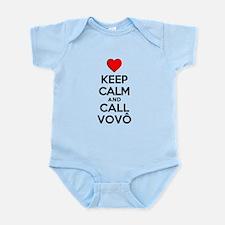 Keep Calm Call Vovo (grandpa) Body Suit