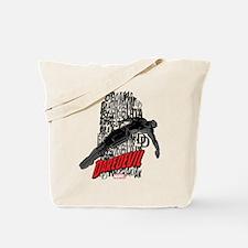 Daredevil Falling Tote Bag