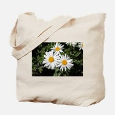 pretty pure white daisy flowers. Tote Bag