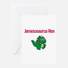 Jamesosaurus Rex Greeting Card