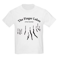 finger-lakes 2 logo.png T-Shirt