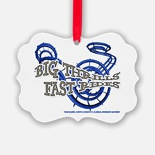 Big Thrills Fast Rides Ornament