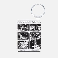 5 falls of Ithaca, NY.png Keychains