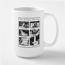 5 falls of Ithaca, NY.png Mugs