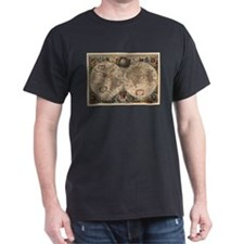 Vintage Map of The World (1641) T-Shirt