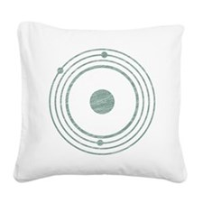 Abducted Singular Square Canvas Pillow