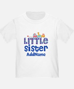 Personalized Name Little Sister T